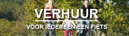 Fiets huren Veluwe, voor iedereen een fiets